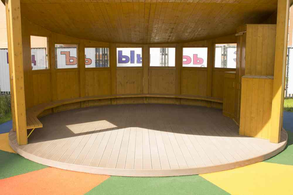 Беседки в детском саду