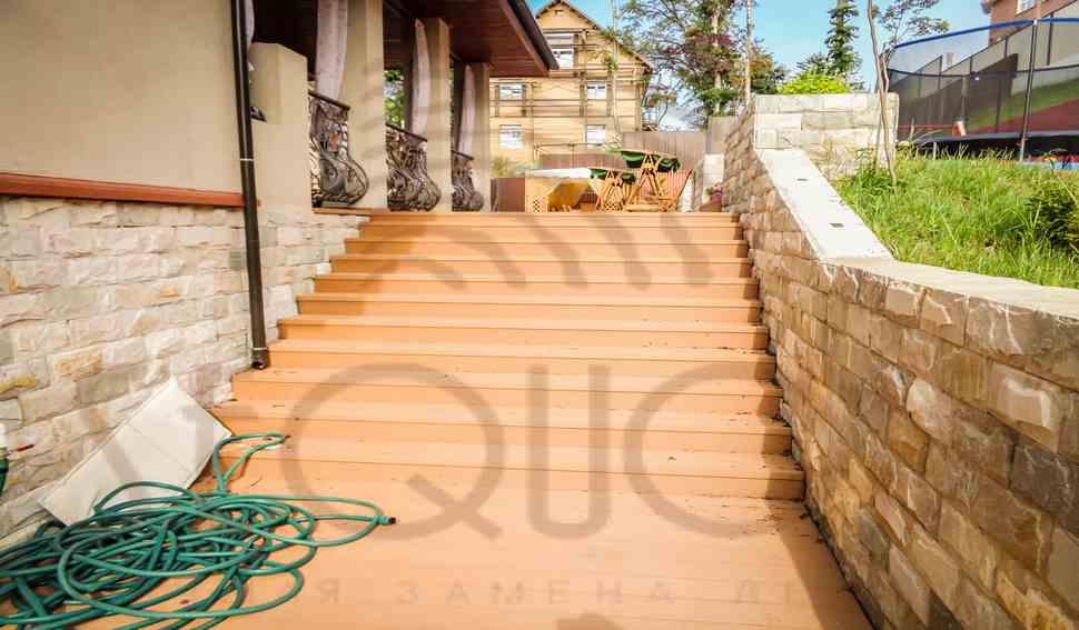 Террасная доска Sequoia - различные объекты
